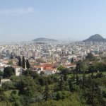 Panorama of Athens from the Areopagus