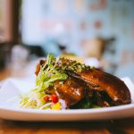 Our very famous free range duck! we have been serving this for years by popular demand.
