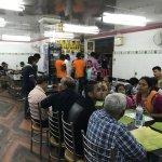 Dinning Hall of Saravana Bhavan Pure Veg Restaurant.