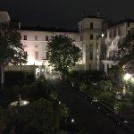 Vista dalla camera sull'aranceto di Palazzo Spada