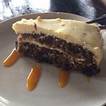 Carrot Cake - I appreciated the ample frosting