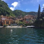 The town of Verenna just across the lake from Bellagio