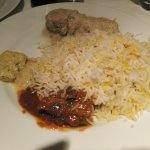 Biryani with Chicken Curry