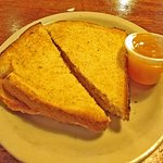 Toast and house made peach jam