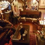 Sam, Heather & assorted cheeky dogs enjoying The Ship Inn, Pinchbeck