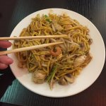 Stir fry from live station