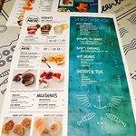 Ocean basket menu