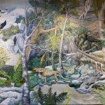 Panel from Yarns Artwork in Silk Deloraine
