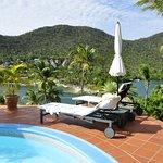 Foto de Marigot Palms Luxury Caribbean Guesthouse and Apartments