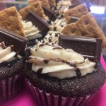 Delicious s'more cupcakes