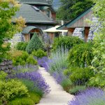 Dome cottage gardens.