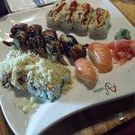 Lunch Sushi Buffet !  Yum :)