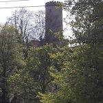 Anblick der Sparrenburg vom Niederwall