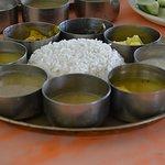 Veg Thali meals