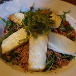 Halloumi Salad with Quinoa
