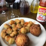 Spicy and uniquely savoury hushpuppies and fried okra sides!