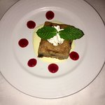 Cherry Pistachio Bread Pudding