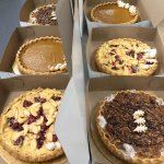 Autumn Pies - Pumpkin Pie, Apple Roasted Plum Vanilla Pie, Chocolate Pecan Pie