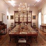 A magnifica sala de jantar