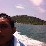 la vista al llegar a Isla Venados