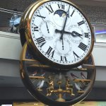 Clock in Melbourne Central that chimes on the hour complete with the music of Waltzing Matilda.