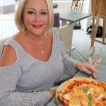 Lobster Pizza- Yum!