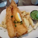 Fish and chips on a busy bank holiday Monday