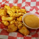 Our homemade cheesecurds are a favorite!