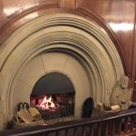 Cosy and historic fireplace