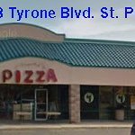 In a small strip Mall  North side Tyrone - just past  Park Road N and Walmart