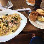 Fettuccine Alfredo- Yes!