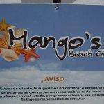 MANGO'S SIGNAGE