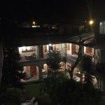Night in the courtyard