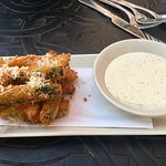 Fried Zucchini appetizer
