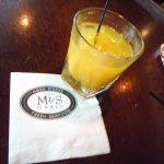 Fresh squeezed orange juice with alcohol - great taste!