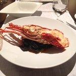 Lobster and Black Noodles