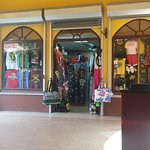 Time square shopping mall, boutique souvenir typique