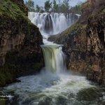 White River Falls (upper) Celestial Falls (lower)