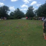 Easter at Jw, egg haunting for the kids