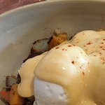 Smoked Brisket Sweet Potaoe Hash