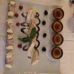 Great meals had from Da Vinci Restaurant. Dessert-cannoli; ice cream; creme brûlée! Shrimps stuf