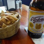 CRISP CHIPS AND COLD BEER