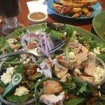 Sweet & Salty Salad! Yum!