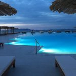 Private pool, taverna restaurant main pool