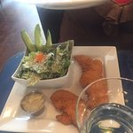 Chicken fingers with Caesar salad, Star Grill, 2069 Portage Ave., Winnipeg, MB