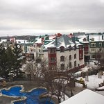 Mont Tremblant village from the hotel