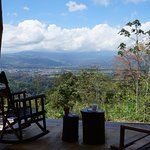 VIEWS OF THE TURRIALBA VALLEY AND VOLCANO
