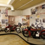 Some of the many Indian Motorcycles in the collection