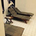 Salle de sport Avec tapis de course, poids , barre ect super et spa Avec sauna hammam jaccuzi c'