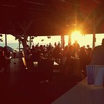 Getting busier in the beach bar